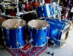 SONOR FORCE 3007 MAPLE ROCK/FUSION 6-PIECE BLUE SPARKLE